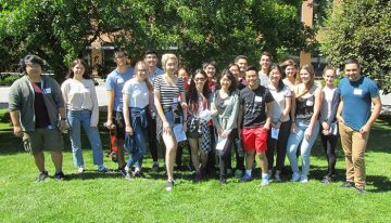 CBR Summer Students 2018