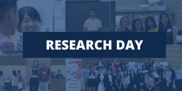 Research Day website front page graphic