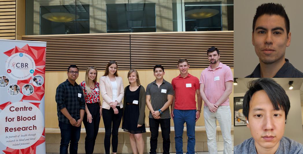 Group photo of the 2019-2020 CBR Graduate Award Program (GAP) cohort, including author Kevin Gonzalez (far left)